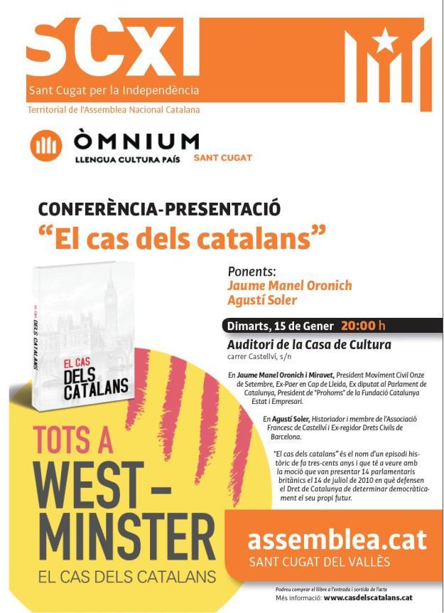 Cartell Cas dels Catalans