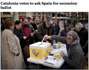 Catalonia votes to ask Spain for secession ballot - The Washington Post-1-3