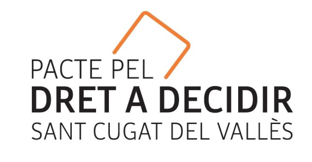 Presentació del Pacte Santcugatenc pel Dret a Decidir (1/2)