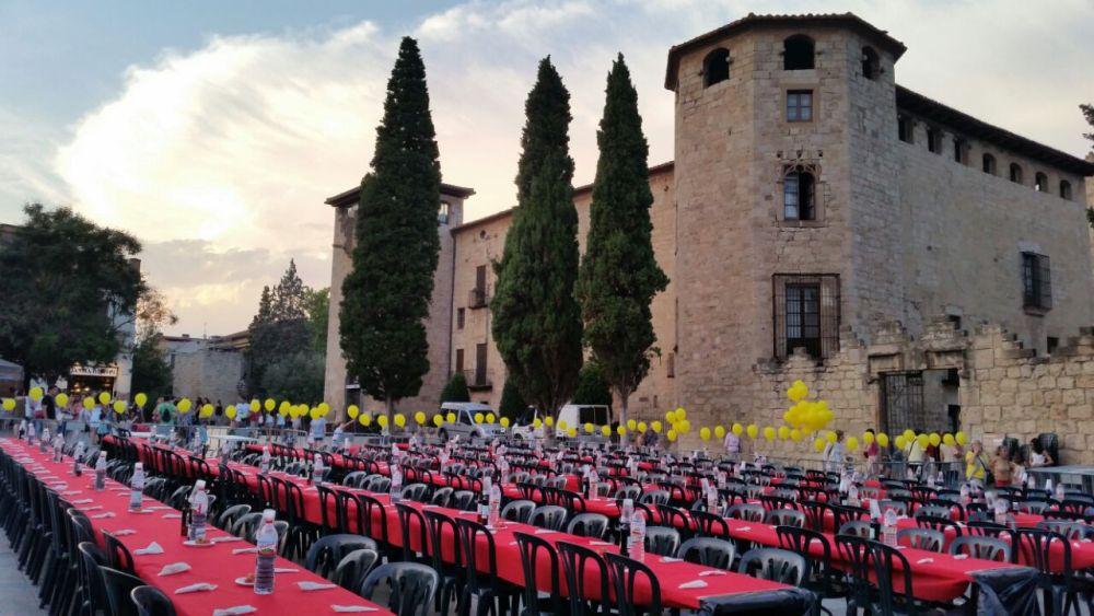 """Gran èxit del """" Sopar i Festa per la Llibertat de Sant Cugat"""" (2/3)"""