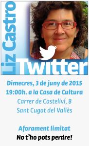 Liz Castro ens revela els secrets de Twitter