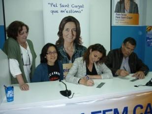 CiU signant el compromís