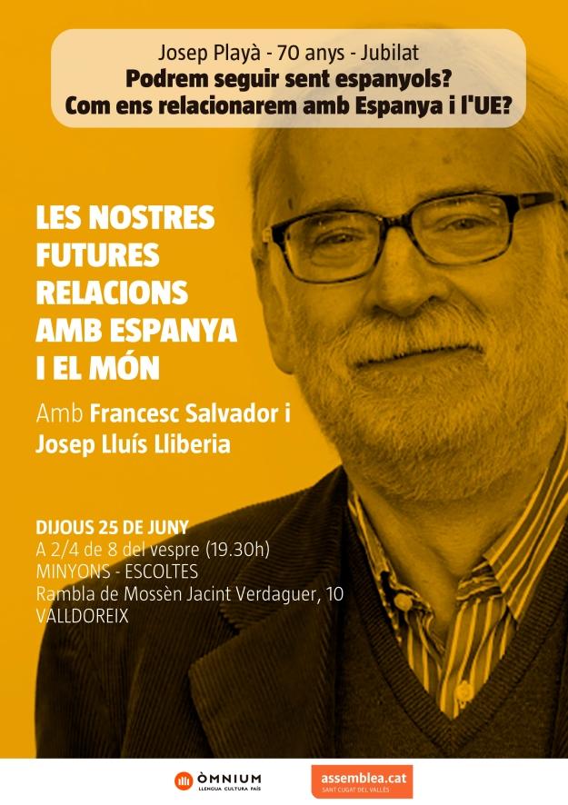 Les futurs relacions amb Espanya i el món