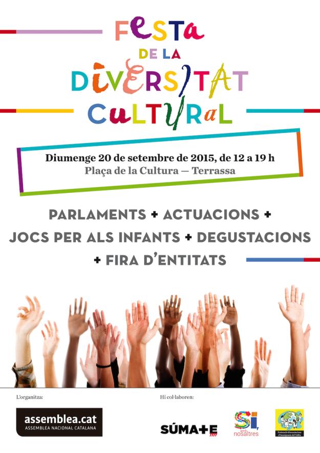 Cartell ANC Festa de la Diversitat Cultural Setembre 2015   (1)
