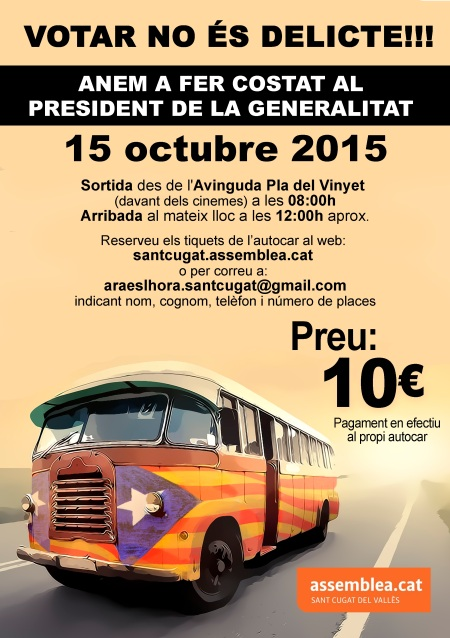 cartell bus 15O