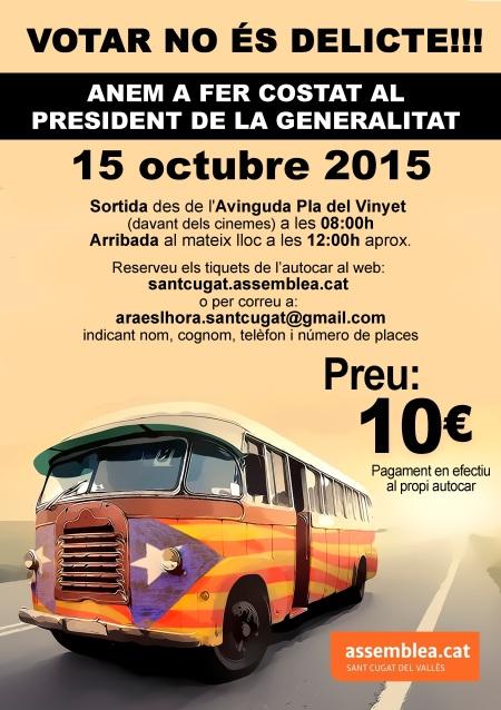 cartell bus 15O
