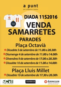 Cartell Parades 2016