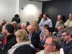 20170320 Lectura Manifest contra sentència 9N al ple Ajuntament 3