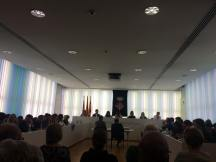 20170320 Lectura Manifest contra sentència 9N al ple Ajuntament 4